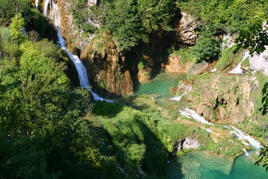 Plitivice Lakes waterfalls cascades
