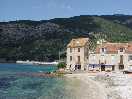 Komiža town in Croatia